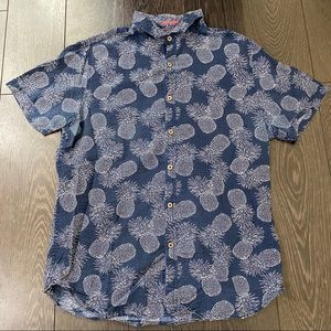 Men's Cactus Man Button Up Medium